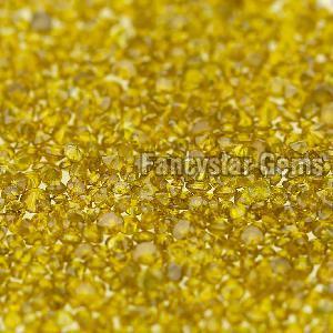 Yellow Color Loose Diamond 04