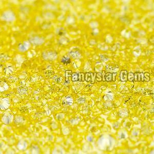 Yellow Color Loose Diamond 05