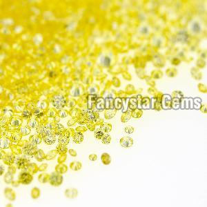 Yellow Color Loose Diamond 06