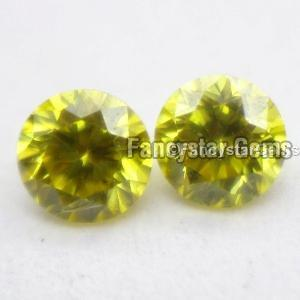 Yellow Color Loose Diamond 09