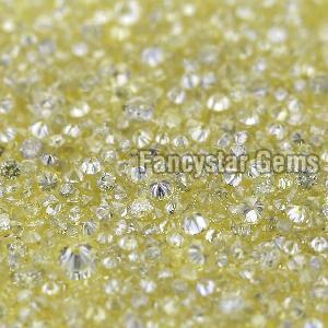 Yellow Color Loose Diamond 13