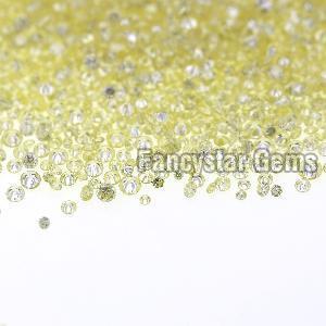 Yellow Color Loose Diamond 14