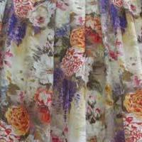 Georgette Digital Printed Fabric 01