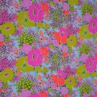 Printed Crape Fabric 04