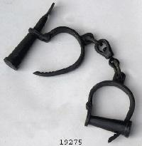 Antique Handcuff