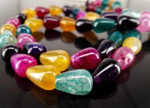 Agate Drops Beads 01