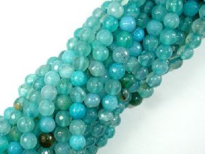 Agate Faceted Beads 01