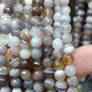 Agate Faceted Beads 04