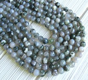 Agate Faceted Beads