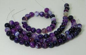 Agate Plain Beads