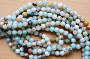 Amzonite Rondelle Beads