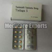 Tadalafil Tablets (5mg)