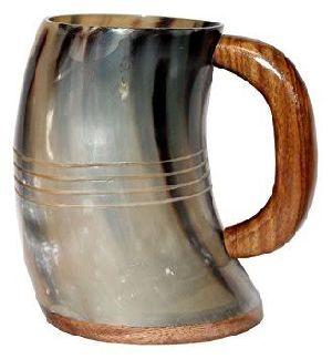30450 Beer Horn Mug