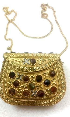 FA0# 29866 Metal Sling Bag