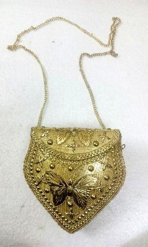 FA0# 29868 Metal Sling Bag