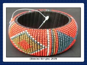 FJ-BB0# 30037  Beaded Bangles