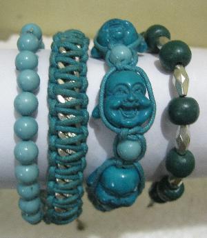 FJ-BBR0# 30118 Beaded Bracelet