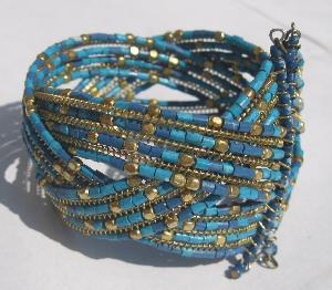 FJ-BBR0# 30122 Beaded Bracelet