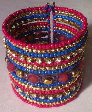 FJ-BBR0# 30124 Beaded Bracelet