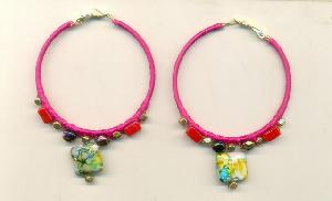 FJ-BDER0# 30158 Beaded Earrings