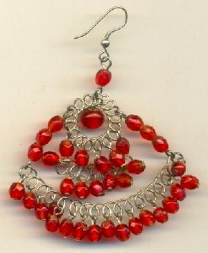 FJ-BDER0# 30162 Beaded Earrings