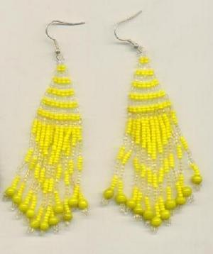 FJ-BDER0# 30163 Beaded Earrings