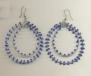 FJ-BDER0# 30164 Beaded Earrings