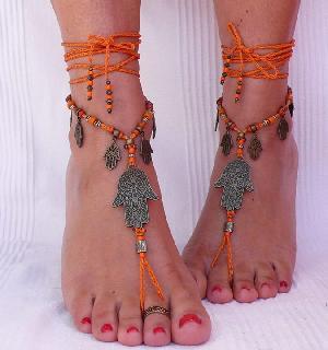 FJ-BFS0# 30079 Barefoot Sandal