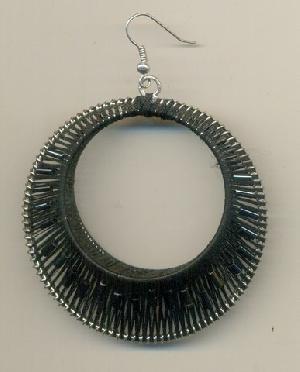 FJ-GER0# 30167 Glass Earrings