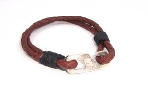 FJ-LBR0# 30225 Leather Bracelet