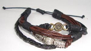 FJ-LBR0# 30229 Leather Bracelet