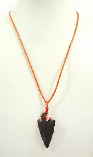 FJ-LN0# 30247 Leather Pendant