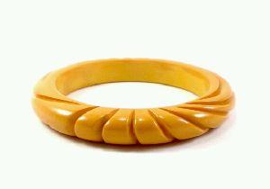 FJ-RCB0# 30073 Resin Carved Bangles