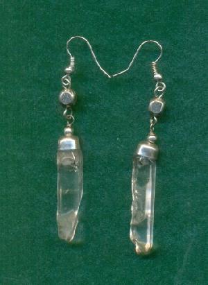 FJ-SER0# 30340 Stone Earrings