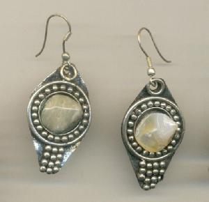 FJ-SER0# 30342 Stone Earrings