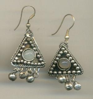 FJ-SER0# 30343 Stone Earrings
