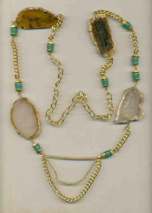 FJ-SN0# 30344 Stone Necklace