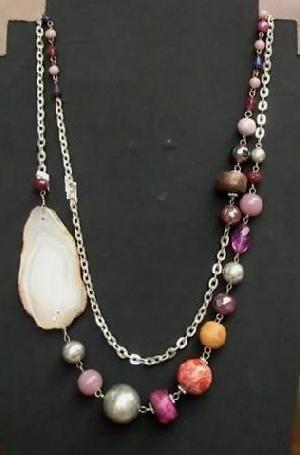 FJ-SN0# 30347 Stone Necklace
