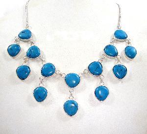 FJ-SN0# 30357 Stone Necklace