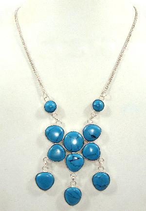 FJ-SN0# 30358 Stone Necklace