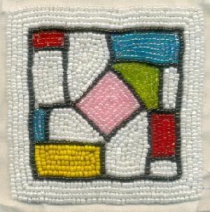 TT-BD-CSTR0# 30406 Beaded Coasters