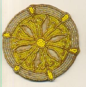 TT-BD-CSTR0# 30410 Beaded Coasters