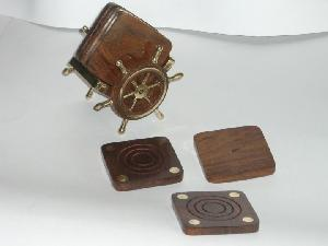 TT-WD-CSTR0# 30422 Wooden Coasters