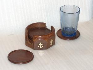 TT-WD-CSTR0# 30423 Wooden Coasters