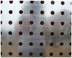 Round Hole Metal perforated sheets