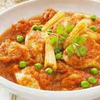 North Indian Baby Corn Masala