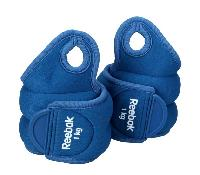 Reebok Wrist Weights 1.0KG Blue 647C
