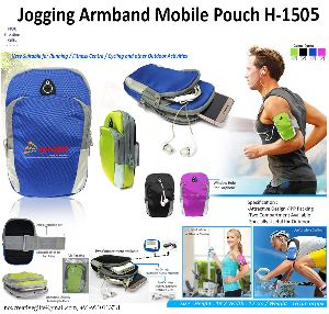H-1505 Jogging Arm Band Mobile Pouch