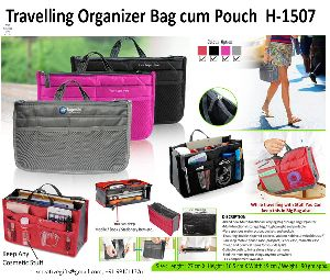 H-1507 Travelling Bag cum Pouch