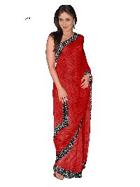 ALL Other SAREE S-19 Karina Red